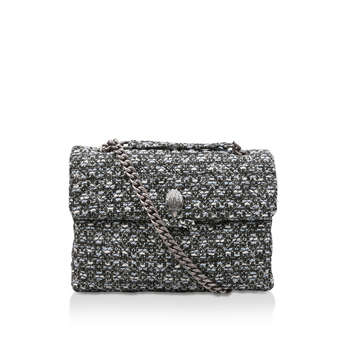 Tweed Lg Kensington X Bag from Kurt Geiger London