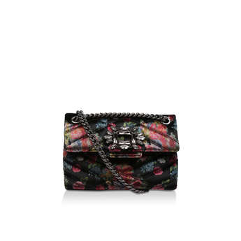 Velvet Mini Mayfair Bag from Kurt Geiger London