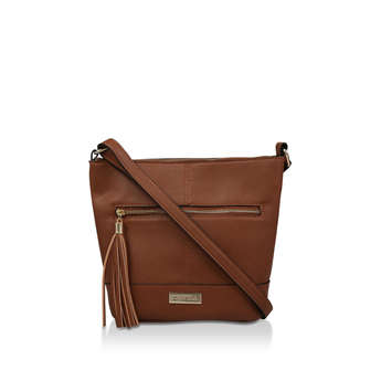 Betty Zip Top Tassel Bag from Carvela