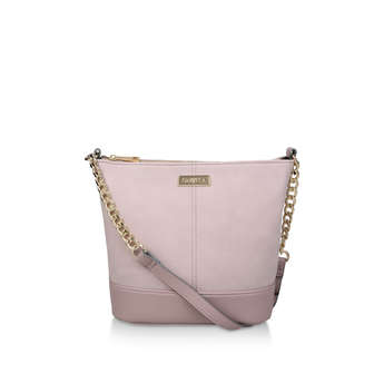 Rich Zip Top Chn Bckt Bag from Carvela