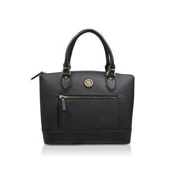 Medium Zipped Up Satchel from Anne Klein