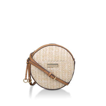 Cake Raffia Circle Xbody from Carvela
