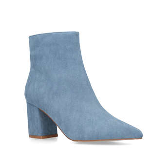 Pointed Block Heel Boot from River Island