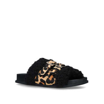 Wide Fit Leopard Slider from River Island