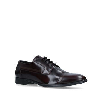 Leather Lace Up Derby from River Island