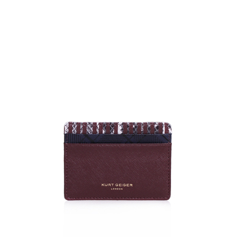 Saffiano Card Holder from Kurt Geiger London