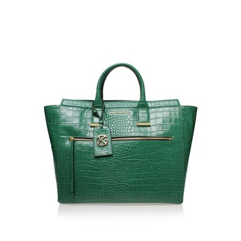 Croc Beatrice Tote from Kurt Geiger London
