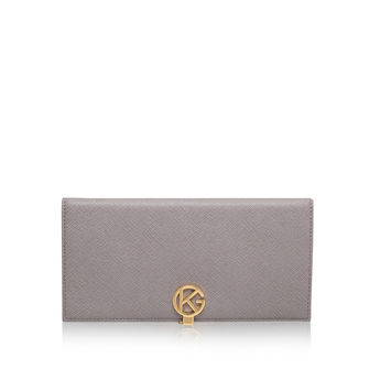 Saffiano Logo Wallet from Kurt Geiger London