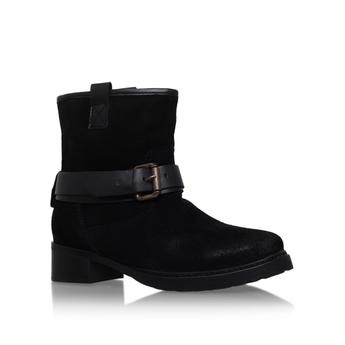 adea3f022388 BEST DEAL TRUST Black Low Heel Ankle Boots - womensshmmz