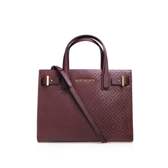 Woven London Tote from Kurt Geiger London