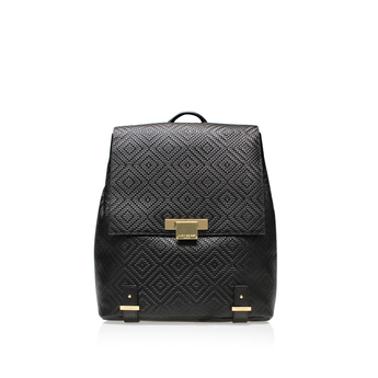 Woven Charlie Backpack from Kurt Geiger London