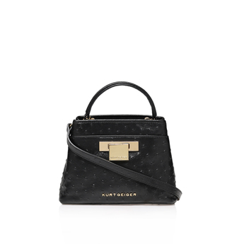 Ostrich Mini Kate Bag from Kurt Geiger London