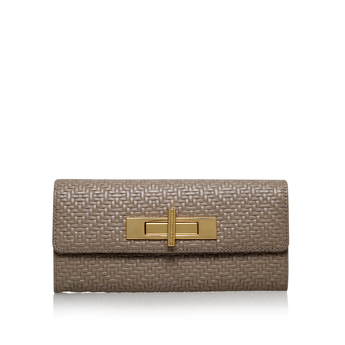 Woven Lock Wallet from Kurt Geiger London