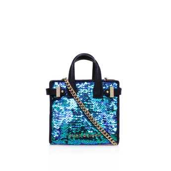 Sequins Micro London Tote from Kurt Geiger London