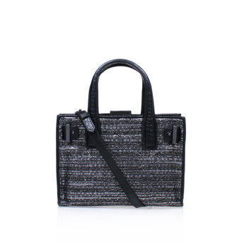 Tweed Horiz London Tote from Kurt Geiger London