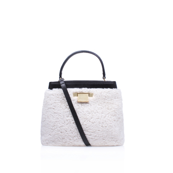 Shearling Kate Bag from Kurt Geiger London