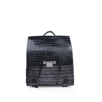 Tweed Charlie Backpack from Kurt Geiger London