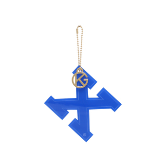 Letter X Charm from Kurt Geiger London