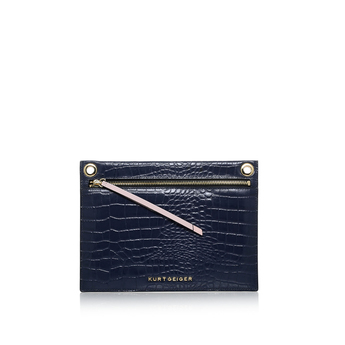 Croc Gemini Pouch from Kurt Geiger London