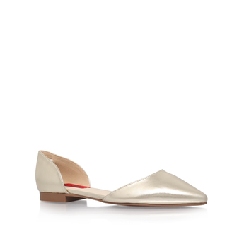 Slip On Shoe With Cut Out from London Rebel