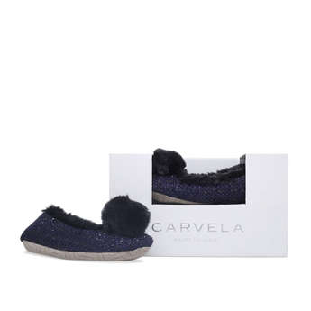 Olivia Pompom Box Slipper from Carvela Kurt Geiger