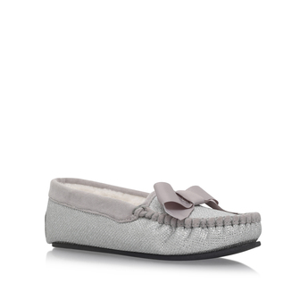 Lurex Bow Box Slipper from Carvela Kurt Geiger