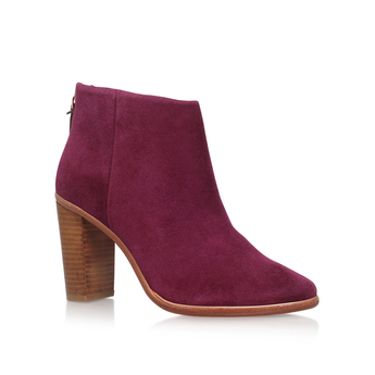 Suede Mid Heel Ankle Boot from Ted Baker