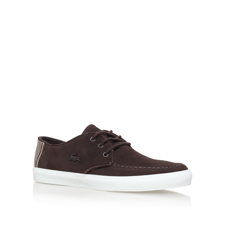 5d13d489449df1 Sevrin Boat Shoe Brown Boat Shoes By Lacoste