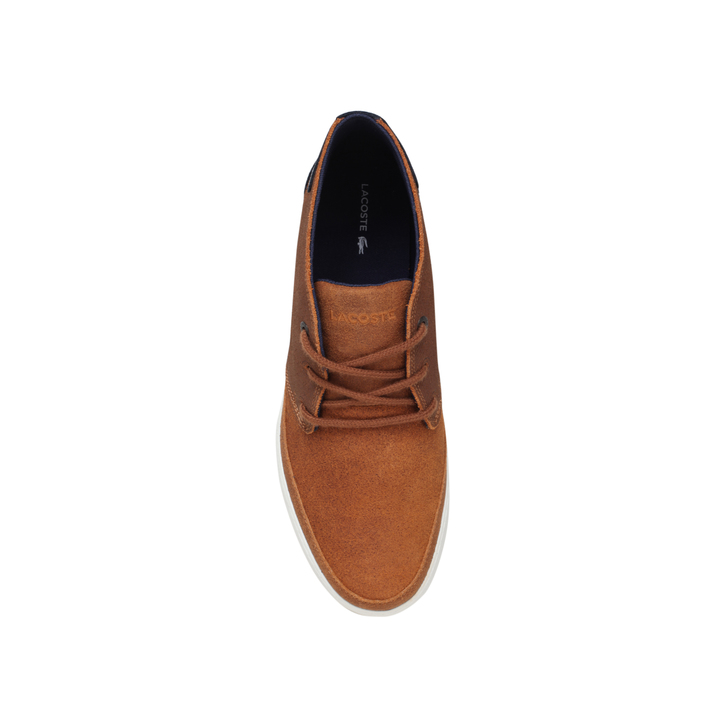 6e5859f86f17f1 Clavel Chukka Boot Tan Lace Up Boots By Lacoste