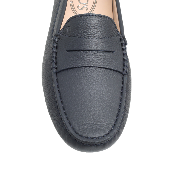 2a864c14484 Mocassino Navy Flat Loafer Shoes By J.p Tods