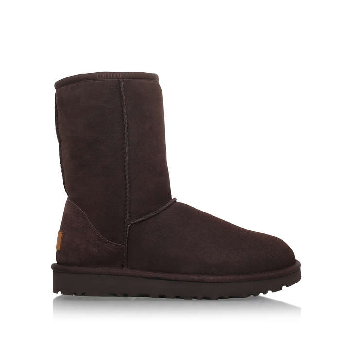 Buy Cheap 2018 Unisex Outlet Sale UGG Short choc ii - brown flat calf boots Sale Cost In China Online Best Price JQtQ2f