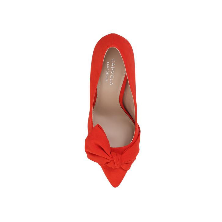 e0cb1ada502e Klassic Orange Mid Heel Court Shoes By Carvela