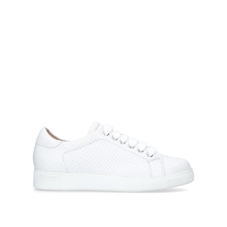 JAGUAR White Low Top Trainers by