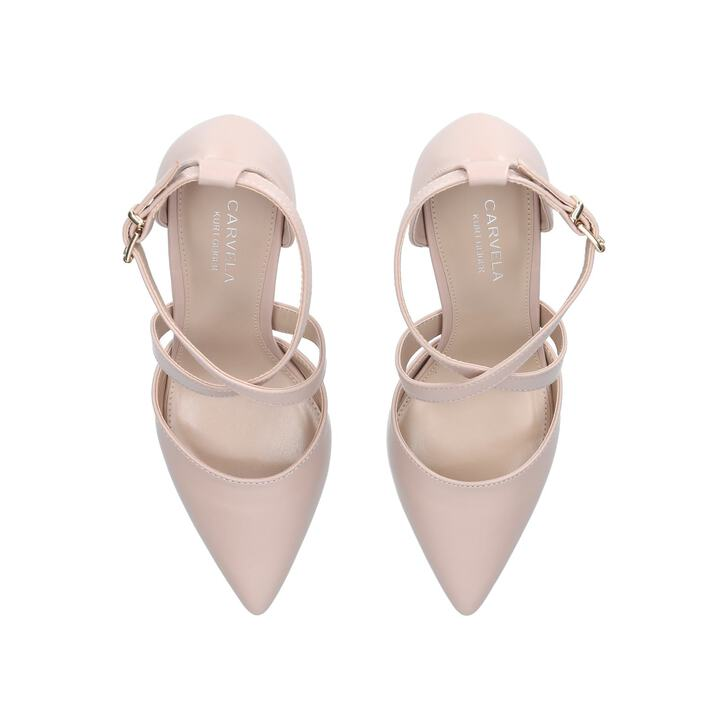 f812ac6b184 Kross 2 Nude Mid Heel Court Shoes By Carvela