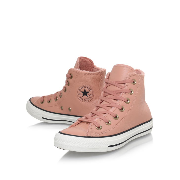 pink leather converse Shop Clothing