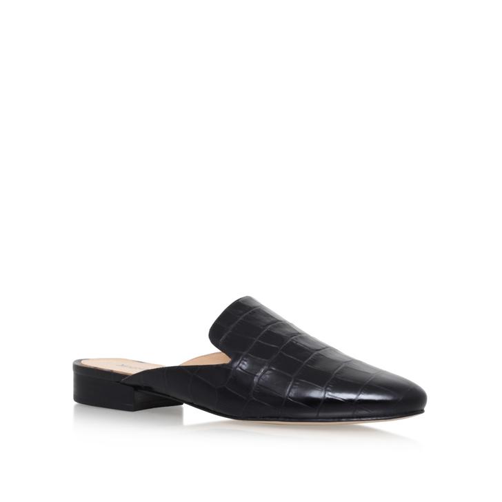 a084b23ed1ca Natasha Slide Black Flat Slippers By Michael Michael Kors