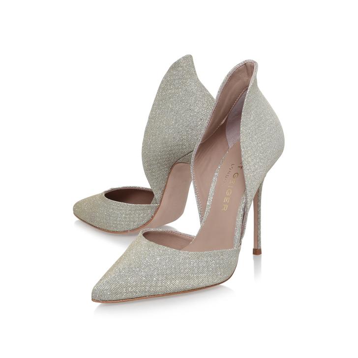 Strike Champagne High Heel Court Shoes By Kurt Geiger London z8RVL1V8