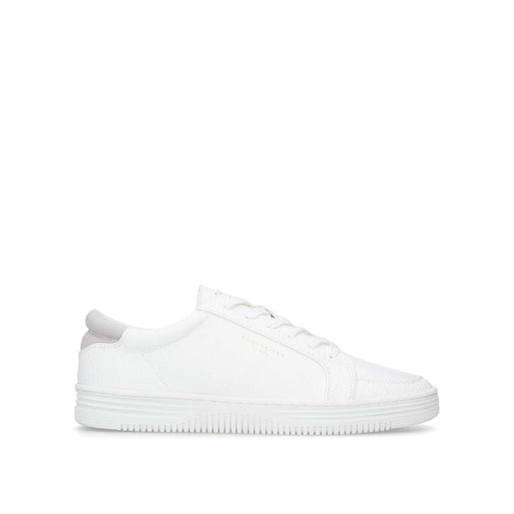 Ivanoe Trainers In White - White Kurt Geiger