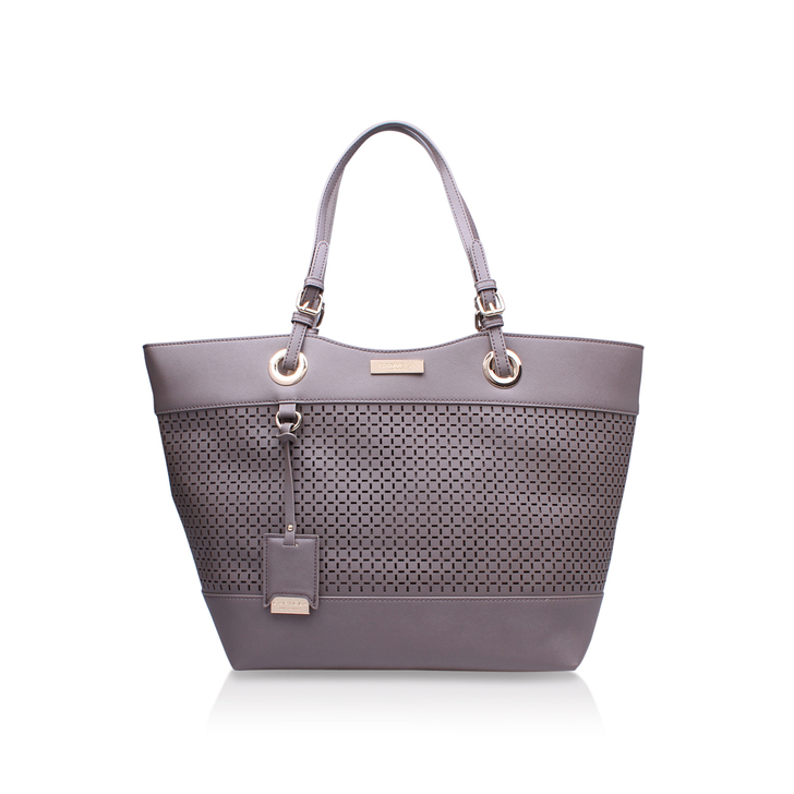 LUCINDA CUT OUT SHOPPER
