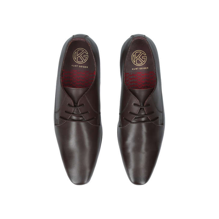 Brown 'Kendal' lace up shoes many kinds of cheap price FoyXglw