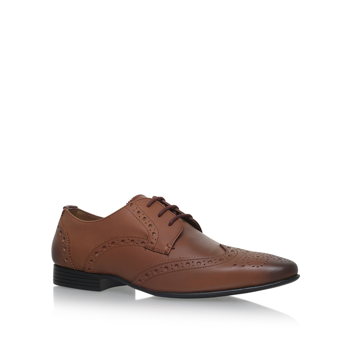 Tan leather 'Sage' brogues buy cheap shop cheap sale sale free shipping outlet QrMUHaATXJ