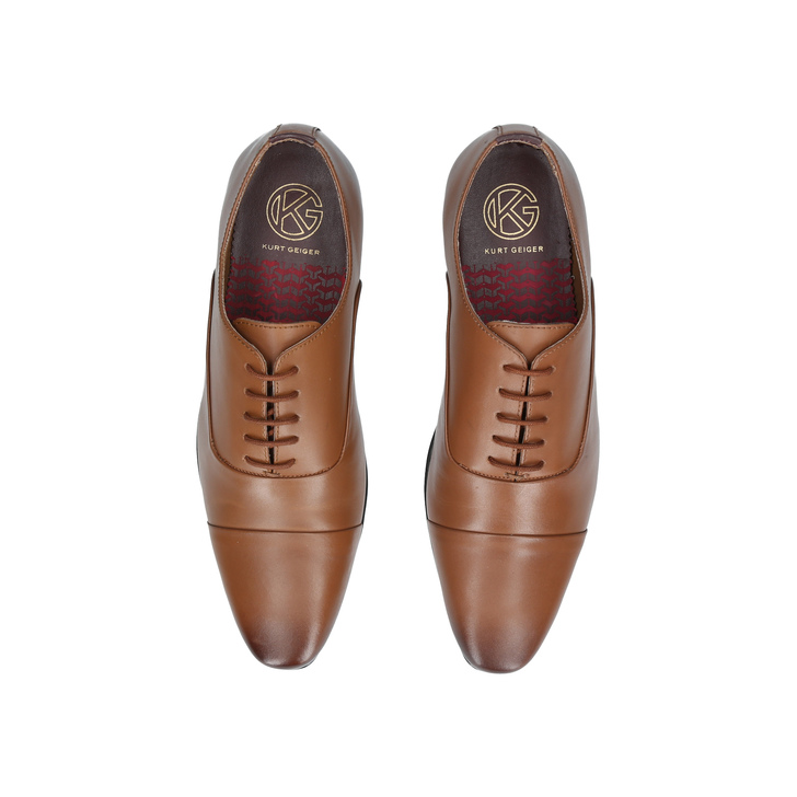 KG By Kurt Geiger Kenwall Oxford Shoes - Brown Kurt Geiger YzqBk