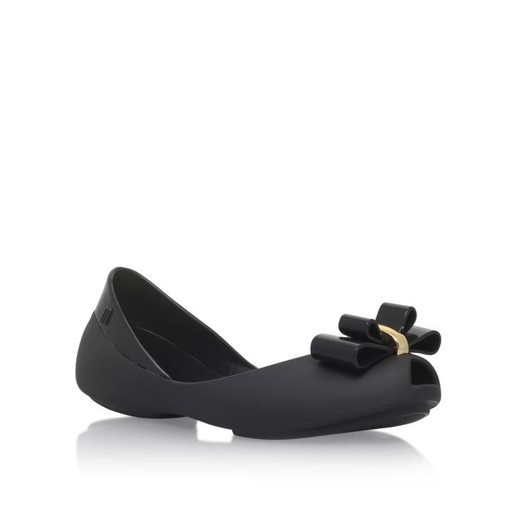 Kids Queen Girls Black Ballerina Shoes