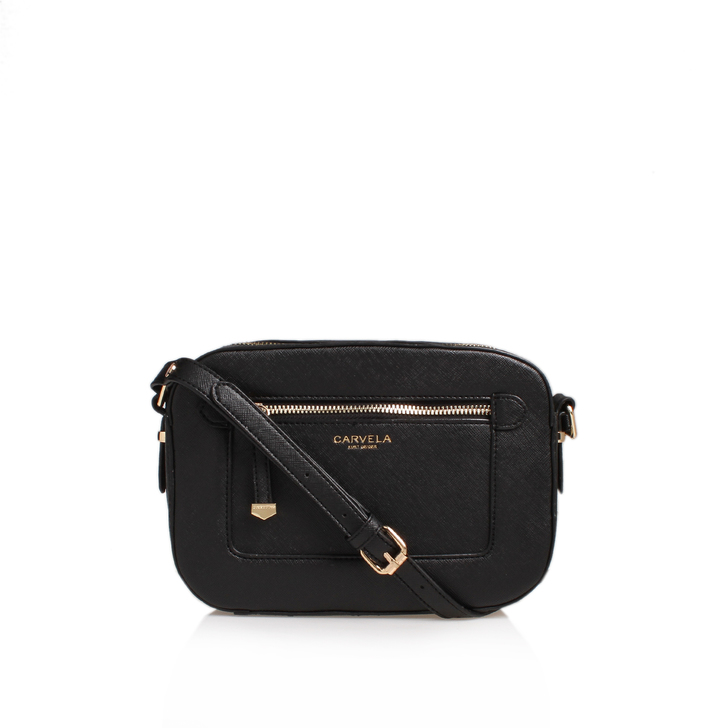 Mia X Body Bag Black Cross Body Bag By Carvela Kurt Geiger