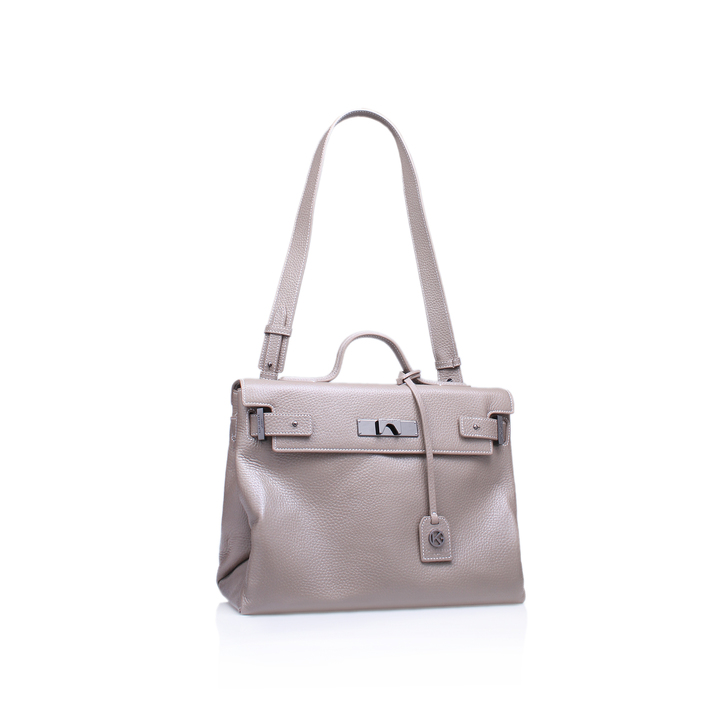LEATHER BRITT TOTE