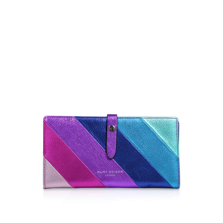 Leather Soft Wallet by Kurt Geiger London