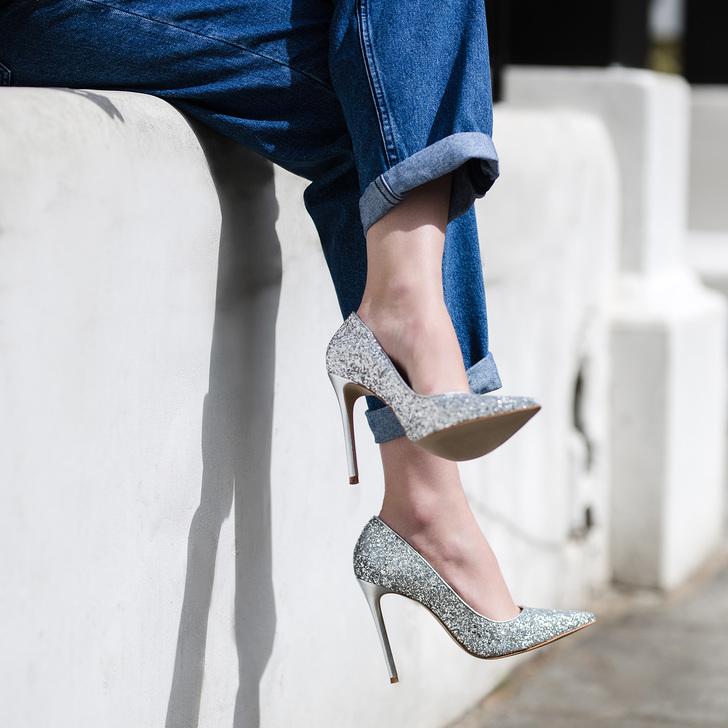 89f802910c5 Alice Silver High Heel Court Shoes By Carvela | Kurt Geiger