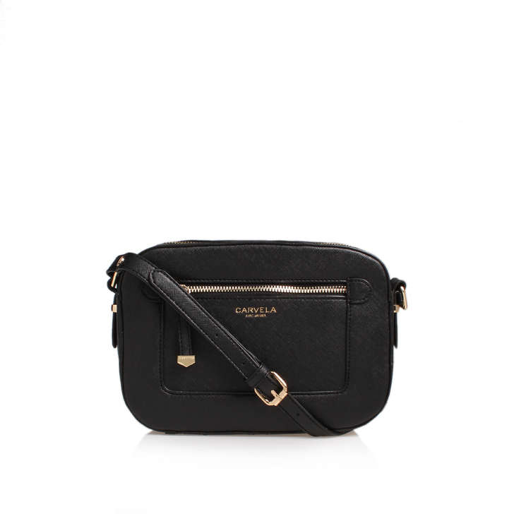 Mia2 X Body Bag Black Cross Body Bag By Carvela  14bcbe7065682