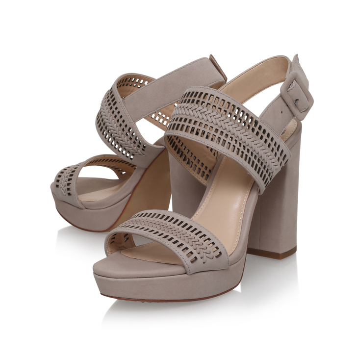 9ac77f21e39 Jazelle Nude High Heel Platform Sandals By Vince Camuto
