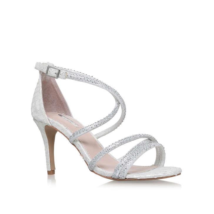 Gravity White Mid Heel Court Shoes By Carvela Kurt Geiger | Kurt ...
